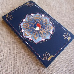 Undated notebook, Spiritual journal, Yoga lovers,Infinity