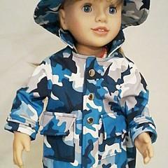 Raincoat and Hat