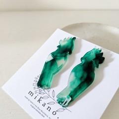 End of line SALE! Eco resin earrings