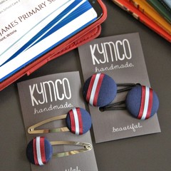 School/sport uniform hair ties - you choose the colour.