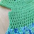 Crochet Dress - 0-3 months