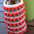 Set of 2 - Christmas Stubby Coolers/Bottle Cosies
