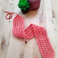Crochet Lattice Headband - teenager / adult size