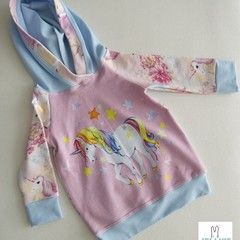 STUNNING BABY GIRLS UNICORN TRACK SUIT