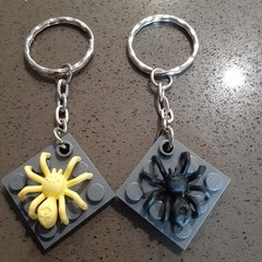 Spider Keyrings