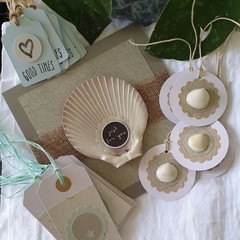 Card + Gift Tag Bundle | Coastal-Inspired