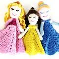 Princess Lovey / Softie / Plush / Cuddly Doll