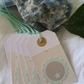 Card + Gift Tag Bundle   Coastal-Inspired