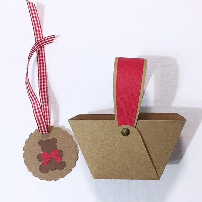 Teddy Bears Picnic Basket gift boxes. First birthday party ...