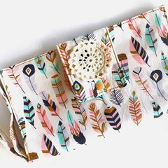 Nappy Wallet | Nappy Clutch | Diaper Bag | Baby Shower Gift | Baby Travel | Bag