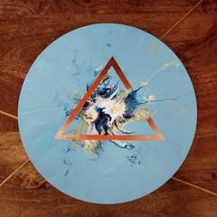 Ocean Burst - Acrylic Pour Art
