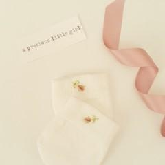 BONDS Hand-Embroidered Baby Girl Newborn Mittens