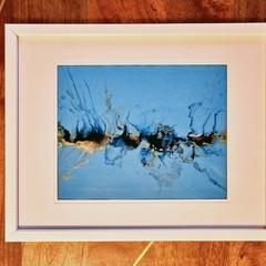 Blue - Acrylic Pour Art