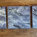Purple Waves - Acrylic Pour Art