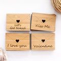 4 Love Letters, Select Your Own, Bamboo Love Gift, Anniversary, For Him, For Her