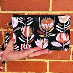 Wristlet - Black Protea