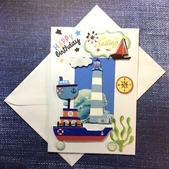 'Sailing' Birthday Card for a Child
