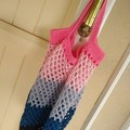 Crochet Mesh Market Bag - Dusk