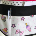 Teacher Apron Ice Cream Six pockets