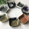Trinket dishes – square – assorted colours – READY TO POST