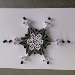Quilled Card- Blank