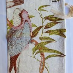 Sustainable Linen Bread Bag