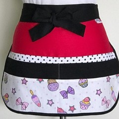 Teacher Apron Ice Cream Six pockets