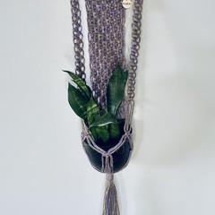Plant hangers  Purple