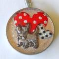 Scottie West Highland Black Terrier  Love my terrier red hearts polka dots