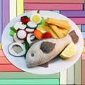 Felt Food Fish n Chips