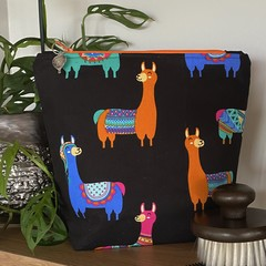 Llama accessory bag - Orange