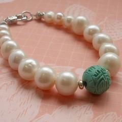 Fat Cat Originals Freshwater Pearl Bracelet