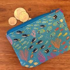 Coin purse - Reef
