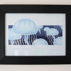 A4 Jellyfish Print