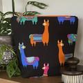 Llama accessory bag - Orange