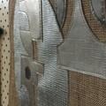 Modern pennant/banner/wallhanging/textile art- Blane
