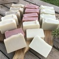 Pack of 4 No fragrance Shea and Cocoa Butter Clay Soap