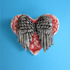 You Are My Angel Brooch
