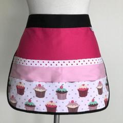 Teacher Apron Cupcake Six pockets