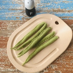 Green beans  felt food, play kitchen, pretend food, pure new wool felt