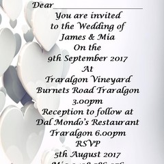 SILVER HEART INVITATIONS