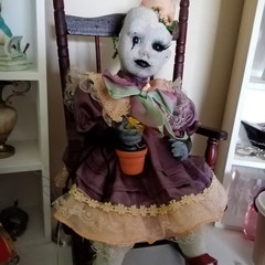 Gothic doll little Tulip