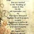 TIMELESS ROSE INVITATIONS
