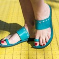 Indian Style Embossed Leather Sandal, Choice of Color & Size