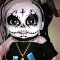 Day of the dead doll living dead art dia De Los muertos