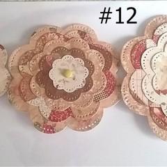 Paper Flower Pack 12