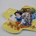 "Snow White set of 3 Liners/Light 6"" Reusable Cloth Menstrual Pad"
