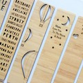 Bamboo Bookmark 18 to Choose From | Teacher gift, Souvenir, Kris Kringle