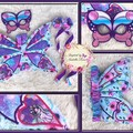 Appliqued 'Fairy' Wings', Embroidered Mask & Dancing Ribbons