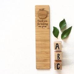Teacher Bookmark, Teacher Gift, Thank You Gift, Kindergarten Daycare Preschool